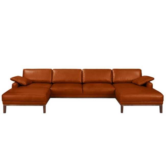 Canapé XXL cuir Horley - Touslescanapes.com