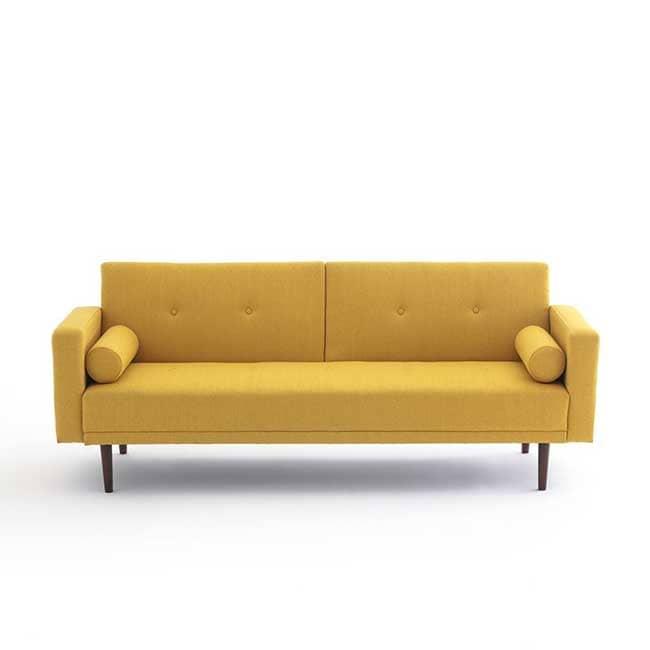Canapé vintage jaune Tuske - Touslescanapes.com